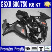 Kit de carénage de moulage par injection à 100% pour Suzuki GSXR 600 750 K6 2006 2006 GSXR600 GSXR750 06 07 R600 R600 R750 Kit de carénage après-vente