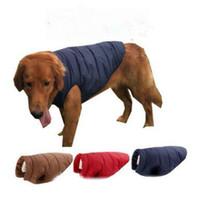 Pet Dog Winter Roupas Ao Ar Livre À Prova D 'Água Vest Colete Jaqueta Estilo Estilo Pet Costume Roupas de Algodão Grosso Casaco Quente para Chihuahua Qualidade Top