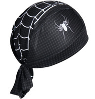 Atacado-Ciclismo Cap Sweatproof Sunscreen Headwear Bicicleta Equipe Cachecol Coif Bicicleta Bandana Pirata Headband Riding Hood Sports chapéu Headcloth