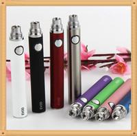 Batteria di alta qualità EVOD Series 650/900 / 1100mAh E- Batterie per sigarette per E-CIG EGO-T 510 MT3 CE4 CE4 CE4 + CE5 GSH2 Atomizzatore vs Kanger BCC
