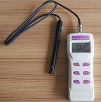 ハンドヘルド導電率合計溶解固体TDS塩分濃度温度4in1メートルテスターメモリー99 Irdaポート8306
