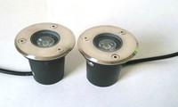 무료 배송 고품질 6pcs 3W LED 지하 램프 매장 조명 LED 지하 조명 야외 recessed DC12V / AC85-265V