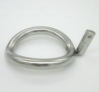 Super piccolo in acciaio inox maschio castità dispositivo cazzo gabbie anello aggiuntivo cazzo anello 8 dimensioni Scegli i giocattoli adulti sesso BDSM