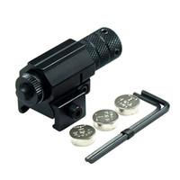 5 шт. / лот мощный тактический Красный точечный лазерный прицел алюминиевый лазерный прицел прицел набор для винтовки пистолетный выстрел