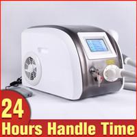 Yag Laser Q Switch Tattoo Pigment Eliminación de marca de nacimiento ND Yag Laser Lip Line Eliminación Máquina de belleza