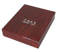 뜨거운 판매 높은 학년 목조 보석 상자 진주 목걸이 포장 상자 0162