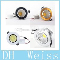 LED 9W Dimmable Led Recessed Down Lights CRI> 85 COB Led D...