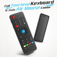 IR learning Full touchpad H1 Mini 2. 4G Keyboard Air Mouse 6-...