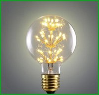 G95 Retro Bulb E26 3W Warm Yellow Bombillas AC120V Filament ...