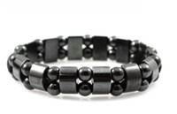SZ9 Radiation protection tourmaline bracelet health Black To...