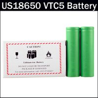 Authentic VTC5 Lithium Battery 18650 Battery 2600mAh 3. 7V Fa...