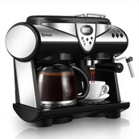 china donlim americano and espresso coffee machine household commercial coffee maker pump 20bar 15l