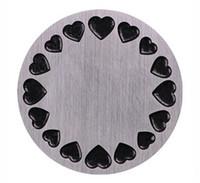 Piatti per finestre con medaglione rotondo in acciaio inossidabile da 20 mm / lotto 22 mm adatti per medaglioni galleggianti viventi in vetro da 30 mm