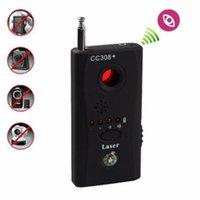 CC308 Kablosuz FNR Tam frekans Dedektörü Radyo Dalga Sinyal Tespit GSM Cihaz Bulucu Lazer Lens RF Sinyal Dedektörü