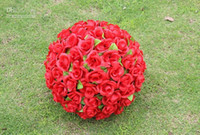 8 inch 20cm Encryption Silk Rose Flower Kissing Ball for the...