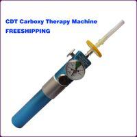 حار بيع طريقة الحقن بالأوكسجين CO2 آلة حقن طريقة الحقن بالأوكسجين CDT لا إبرة ميزوثيرابي مع حقيبة الجمال zzh جهاز
