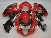 Popular hot red trim kit for SUZUKI GSXR 600 750 04- 05 GSXR6...