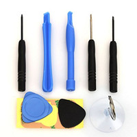 9 في 1 إصلاح افتتاح أدوات حدق اليد كيت لمدة 4 4S فون 5 5S 6 زائد DHL مجانا