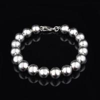Livraison gratuite avec numéro de suivi Top Vente Argent 925 Bracelet 10M Perles Bracelet Bijoux en argent 10pcs / lot pas cher 1558