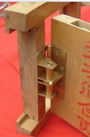 4 inch multifunctionele veerautomatische deur sluiting positie onzichtbare deurscharnier dichterbij de deurstopper groothandel en detailhandel 002-3