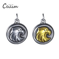 New Trendy Personalized Eagle Charm For Jewelry Making Suppl...