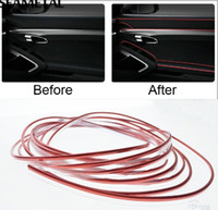 5M Car Striping Modanature interne Decorazione Linea Cruscotto Presa d'aria Volante Flessibile In stile auto Accessori auto