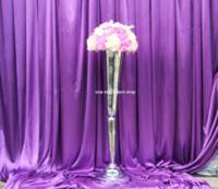 중국 키 큰 정신 중심 꽃병과 결혼식 중심과 꽃 스탠드