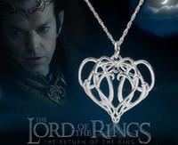 Il film Hobbit Elrond collane il Signore degli anelli Elrond Ciondolo ELF KING Collana gioielli ciondoli collana pandant collana da uomo