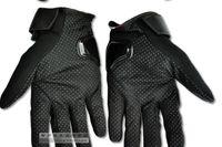 Envío gratis Hombres Motocross Finger Completo Fibra de carbono Guantes de Ventilación Carrera de Cierre Motocicleta Guantes de Ciclismo Guantes Moto Guantes (Enlace de Pedido)
