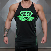 Wholesale- 2017 New Gyms Body engineers Brand vest bodybuild...