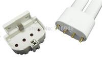 La luz del adaptador de la lámpara del CE ROHS 2G11 al por menor basa el zócalo del tubo H