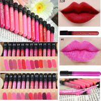 38 Color Maquiagem Moçõxa Matte Color Batom Longo Durando Lip Vara LipGloss Vermelho Vitality Cerise Star Frete Grátis DHL