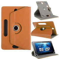 Leather Case With Card Slots Money Pocket tablet pc case Sta...