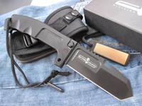 Сильный тяжелый тактический складной нож 440C лезвие 57HRC оси блокировки боевых ножей с упаковкой подарочной коробки