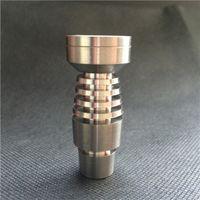 Бесплатная доставка t-003 domeless Титана ногтей как для 14,5-мм и 18,8 мм для стеклянных водопроводных труб Бонг