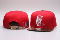 tampas atacado últimos reis marca snapback preto último rei de couro vermelho Leopard LK chapéu da forma boné de beisebol ajustável barato para frete grátis