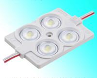 CREE LED STAND BAND 6000K / 2.4W / 12V / IP65 / 4LED Module étanche Module d'advertisement de la publicité LED d'éclairage, module LED de logo d'injection, lumière