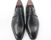 Scarpe da uomo Scarpe da uomo Scarpe artigianali su misura Scarpe oxford  Scarpe Derby Vera pelle f808ccb97c4