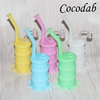 Mini Silicone Oil Drum Rigs Mini Silicone Barrel Rigs Water ...