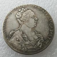 Yüksek Kaliteli toptan 1726 1 Rublesi rus paraları kopya imalat kopya para Fabrika Fiyat güzel ev Aksesuarları Gümüş Paraları