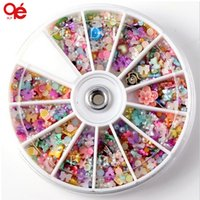 Wholesale- Big 3D Nail Art Decoration Random Designs Tools S...
