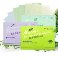 BAIMISS 얼굴 흡수성 종이 기름 흡수성 시트 딥 클렌저 블랙 헤드 리무버 여드름 치료 미용 제품
