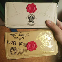 Hot sale Harry Potter Letter Zip Around Wallet pu Long Fashi...