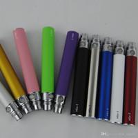 Elektronik Sigara için en Kaliteli EGO T Pil E-çiğ Ego-T 510 Konu uyum CE4 CE5 buharlaştırıcı clearomizer 650 mah 900 mah 1100 mah 10 Renkler