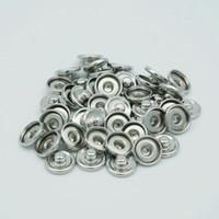 Ordine minimo 100 pezzi 12mm fai da te Noosa pezzi Gunk Snap Base intercambiabile accessori per gioielli Snap Button Base
