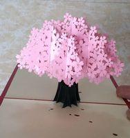 اليدوية ورقة قطع 3d مجسمة زهرة بطاقات المعايدة للطي نوع فريد الإبداعية الصينية الحرف العرقية بطاقات الهدايا