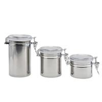 3 größe edelstahl feuchtigkeitstank feuchtigkeitsförderndglas tobacco lagerung umweltfreundliche pille box fee foods speicher case glas