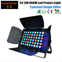 54x3W LED RGBW Project Light Tyanshine Leds Red- 12 Green- 18 ...