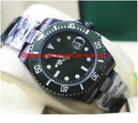Christmas gift Luxury Brand New Green Dial And Bezel 116610 ...