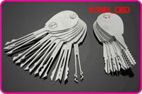 Nuovo 21 pezzi Auto pieghevole forbici deft blocco auto apribile Double Sided Lock Pick set